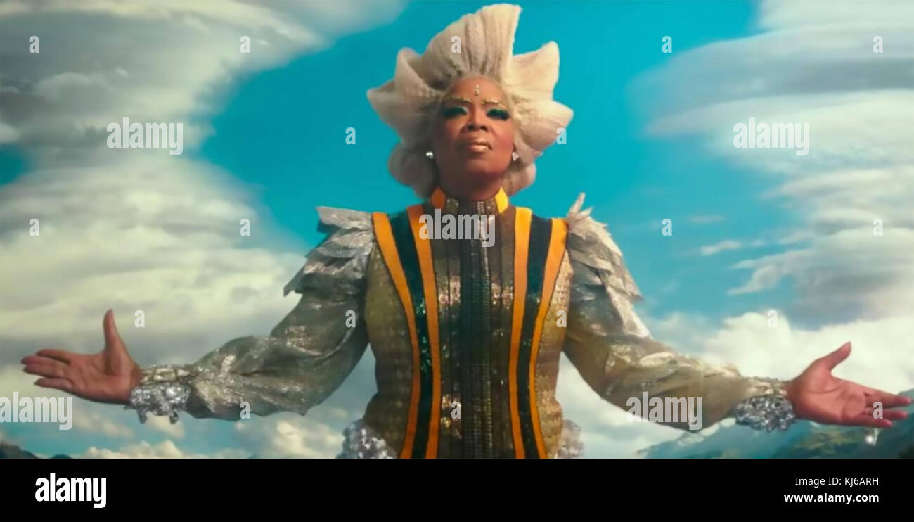 A WRINKLE IN TIME 2018 Walt Disney Pictures film with Oprah Winfrey - Stock Image