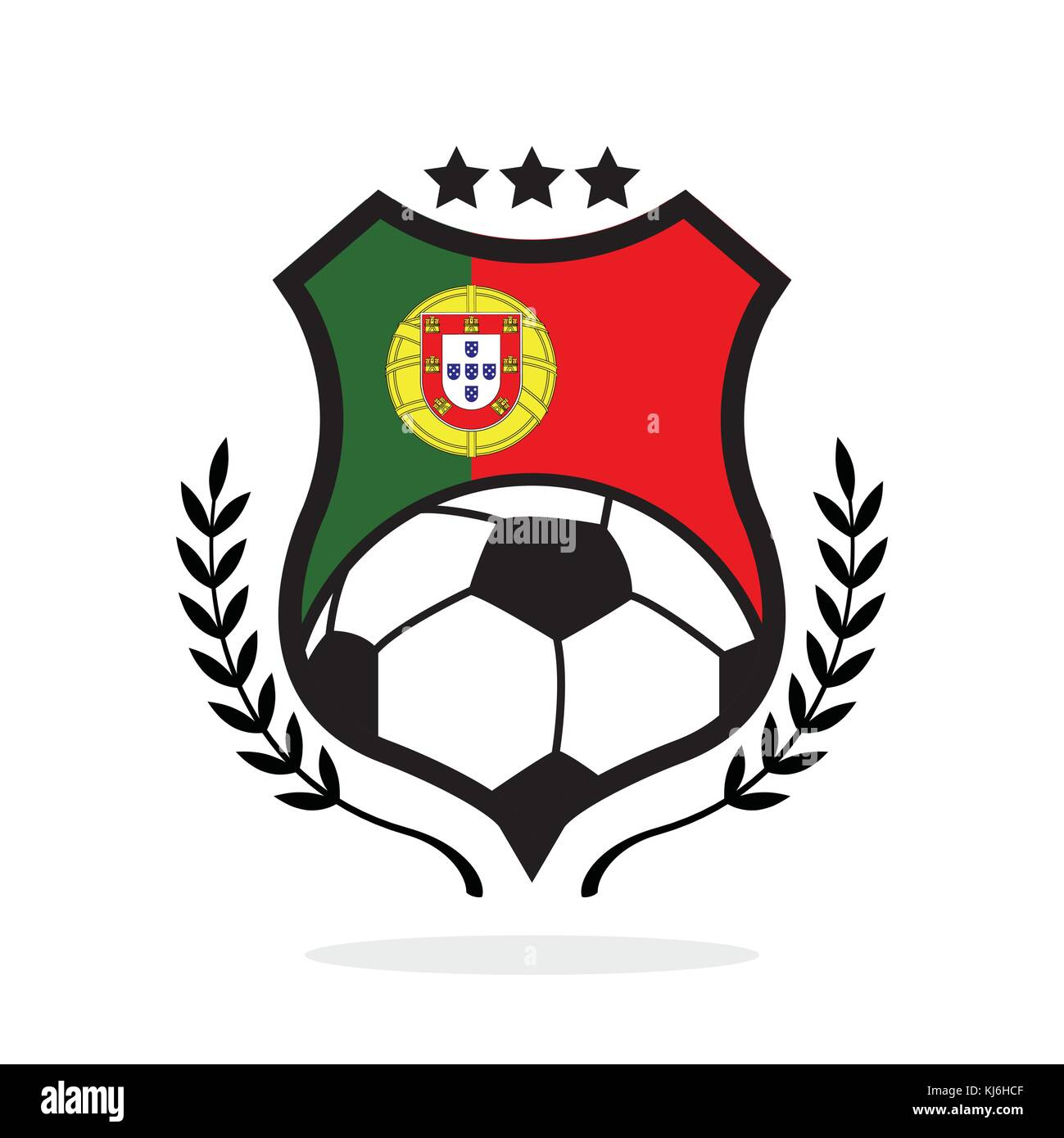 Portugal National Team Stock Vector Images Alamy