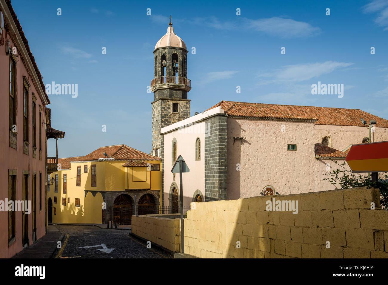 Orotava old town, Tenerife - Stock Image