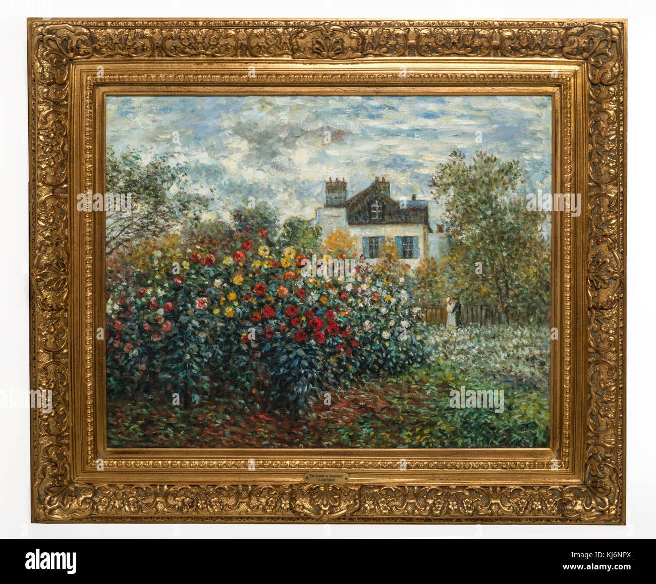 Monet Garden Painting Stock Photos & Monet Garden Painting Stock ...