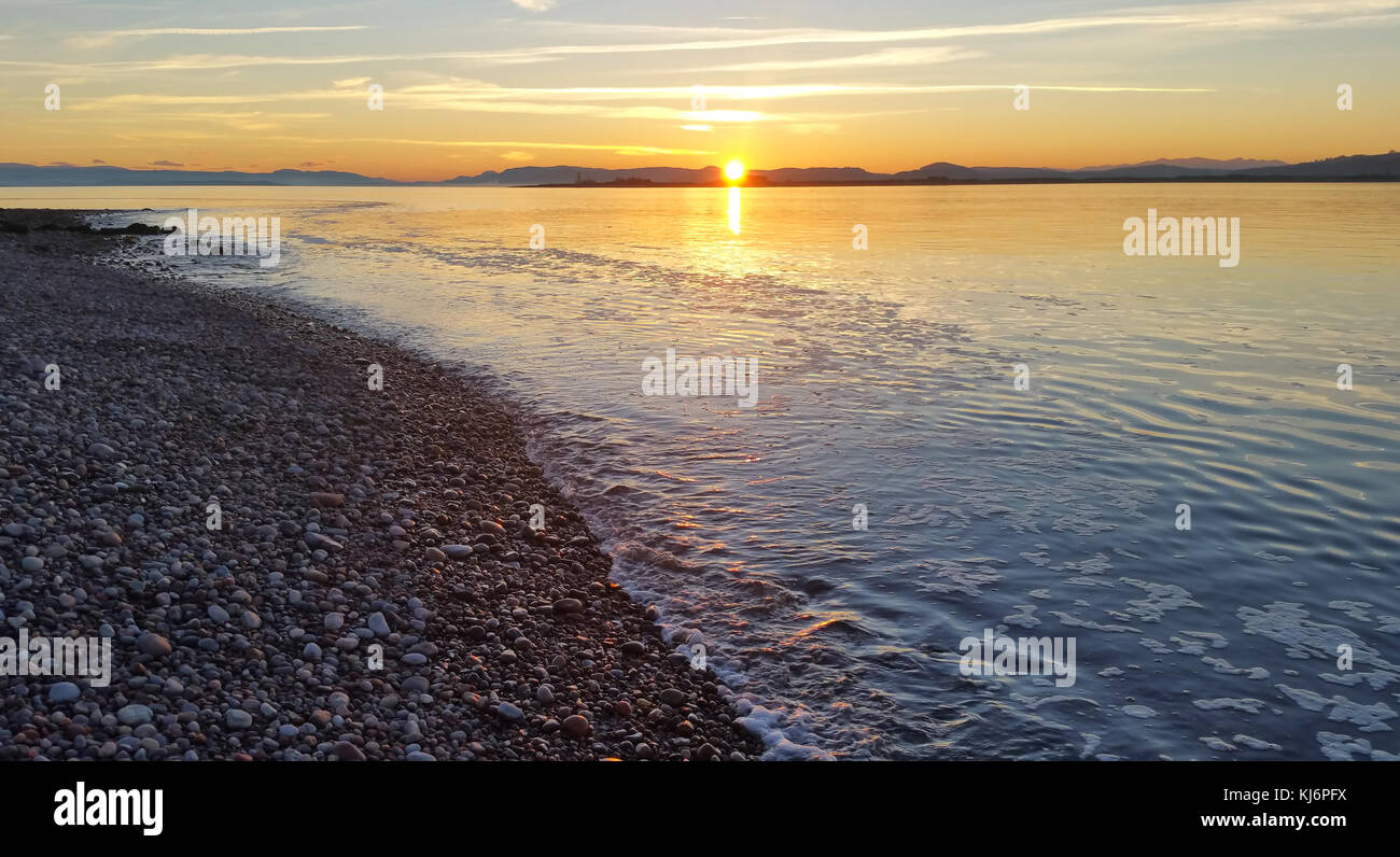View from Fort George, Moray Firth, Scotland, United Kingdom - Stock Image