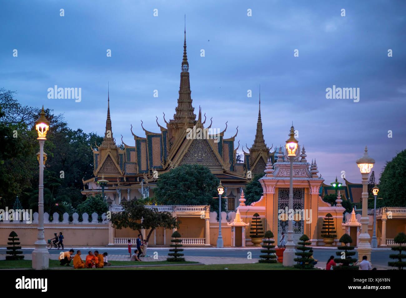 Cambodia Phnom Penh Blau