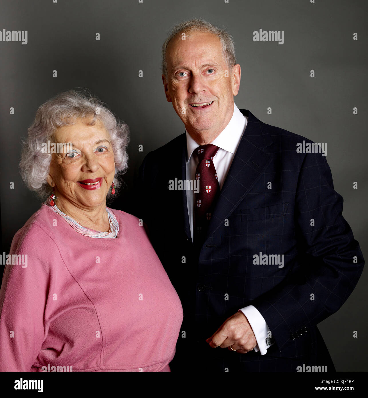 Thelma Ruby Amp Gyles Brandreth At The Oldie Literary Lunch