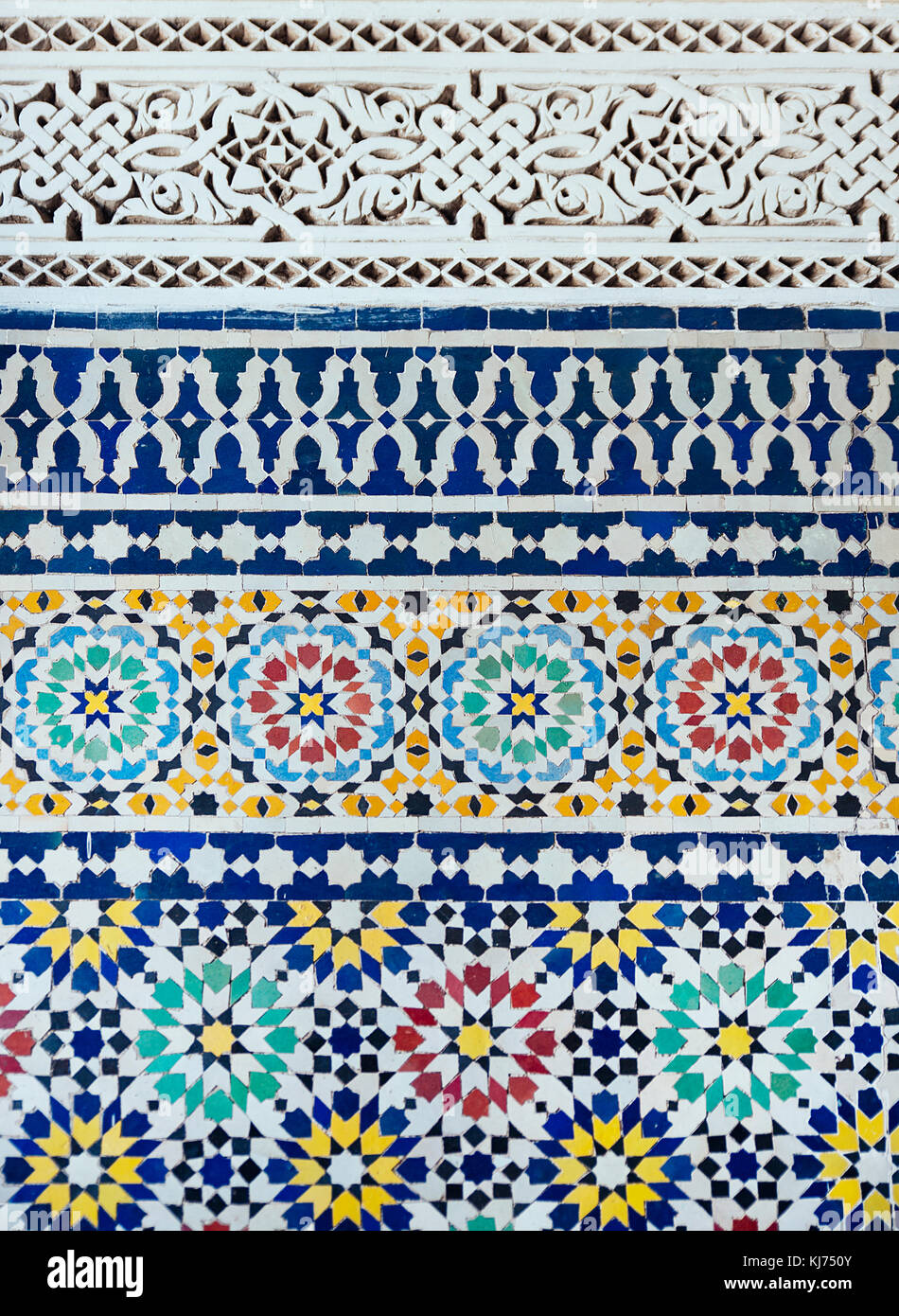 Geometrical colorful middle east tile Stock Photo: 166114731 - Alamy