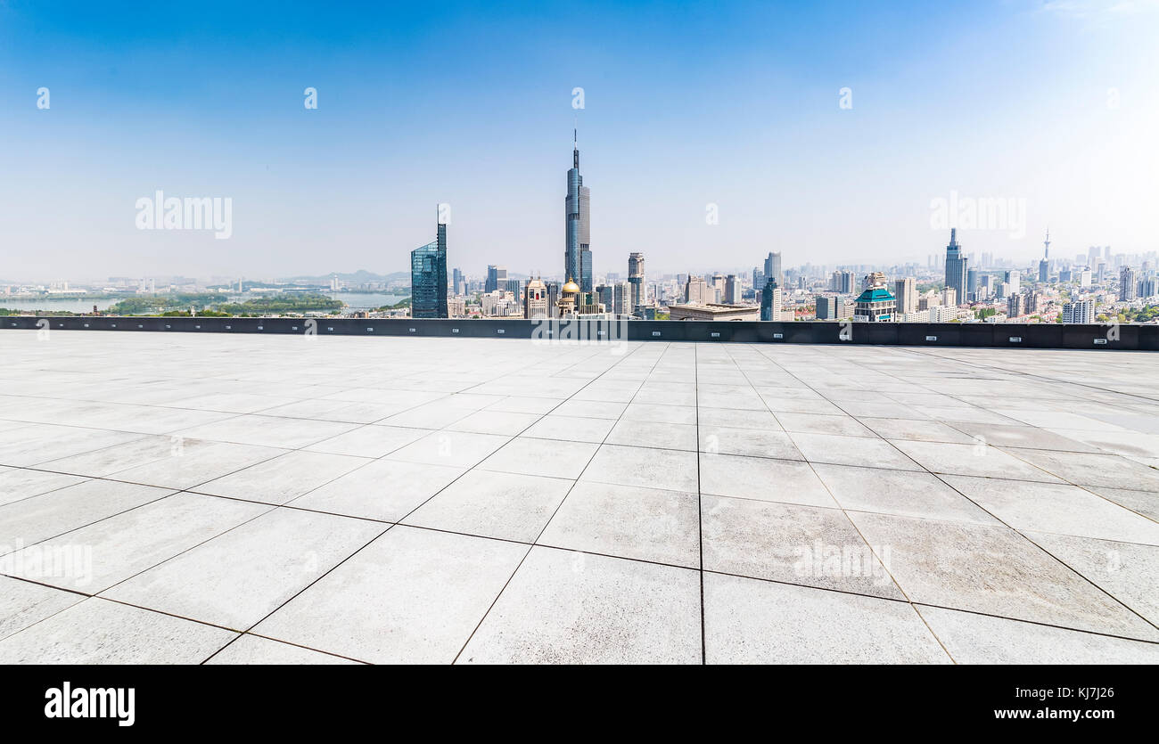 Panoramic floor stock photos panoramic floor stock images alamy panoramic skyline and buildings with empty concrete square floor stock image altavistaventures Choice Image