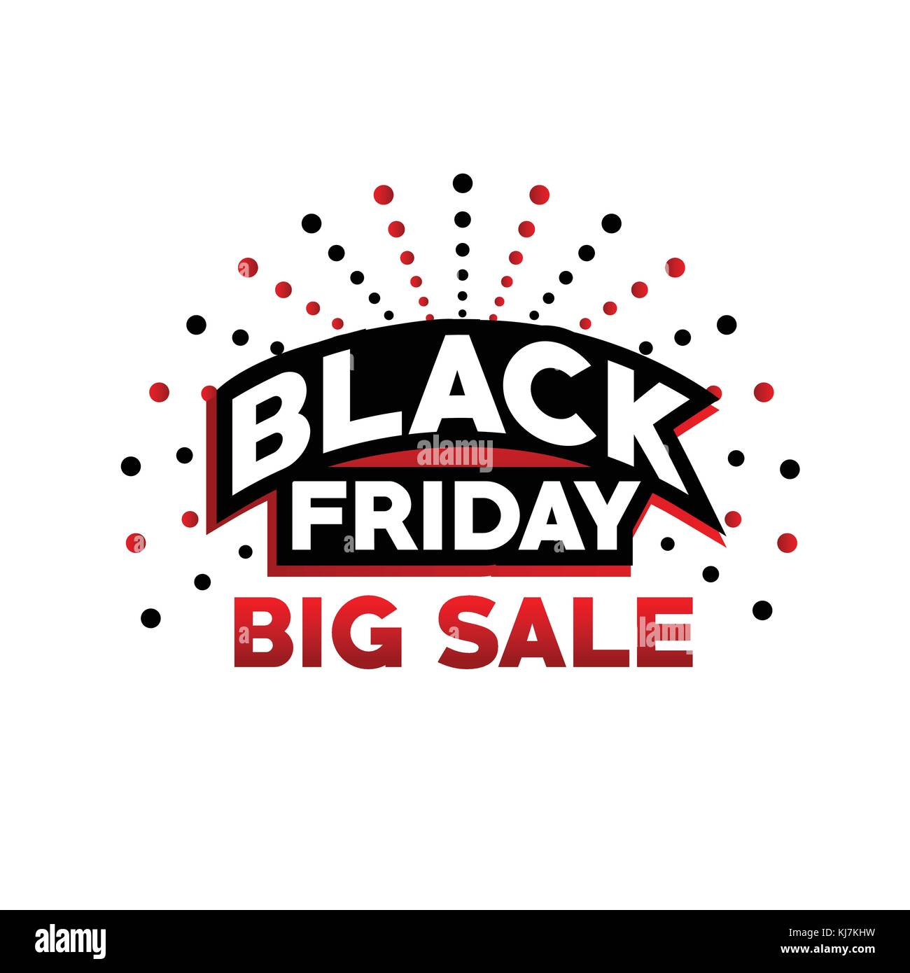 c7e292b5f9a5 black friday big sale, black friday with dots, bold black friday sign, black  friday offer vector, isolated on white background.