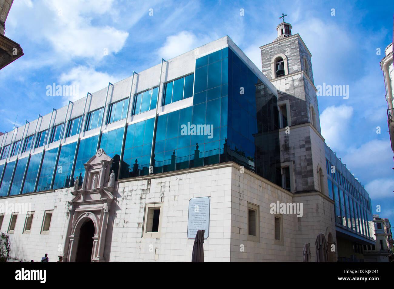 Universidad de san Geronimo, San Geronimo University, Havana, Cuba - Stock Image
