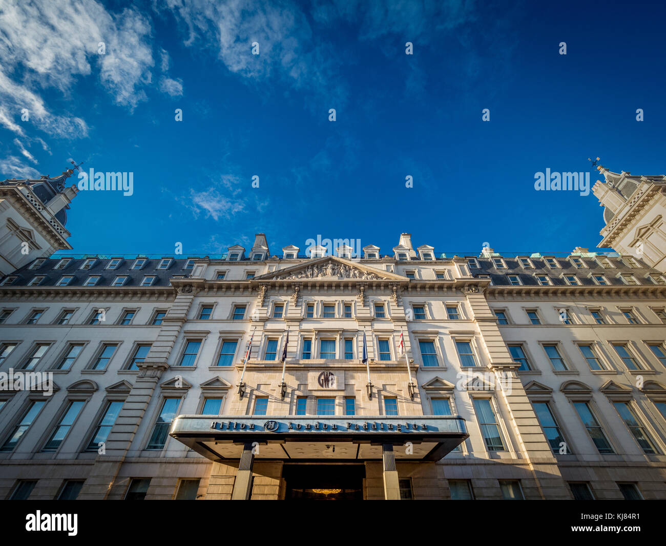 Hilton London Paddington Hotel, UK - Stock Image