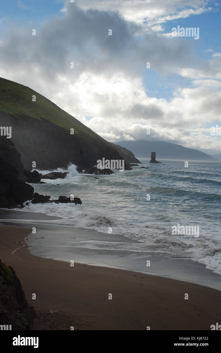 Ireland's Dingle Peninsula - Stock Image
