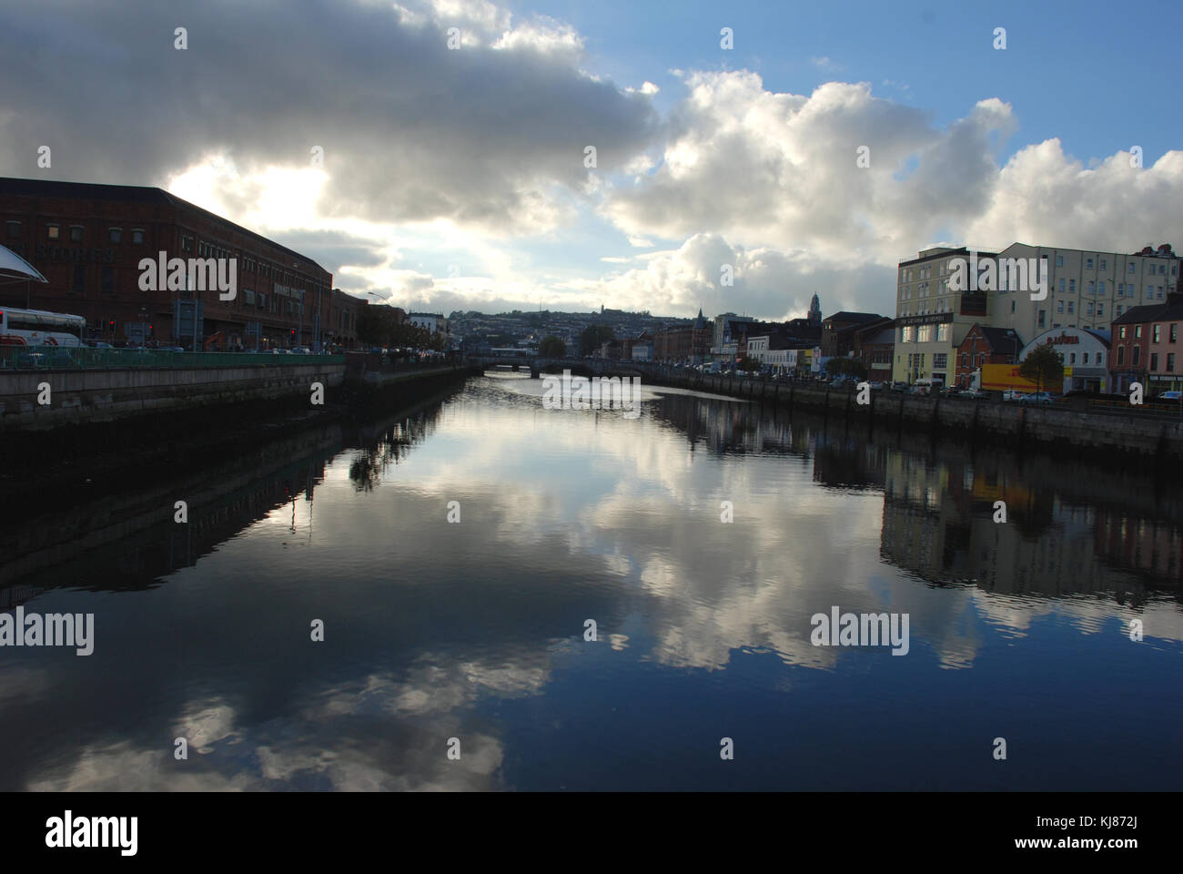 River Lee - Cork, Ireland Stock Photo
