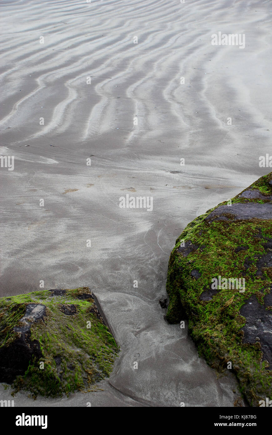 Inch Beach on Ireland's Dingle Peninsula - Stock Image