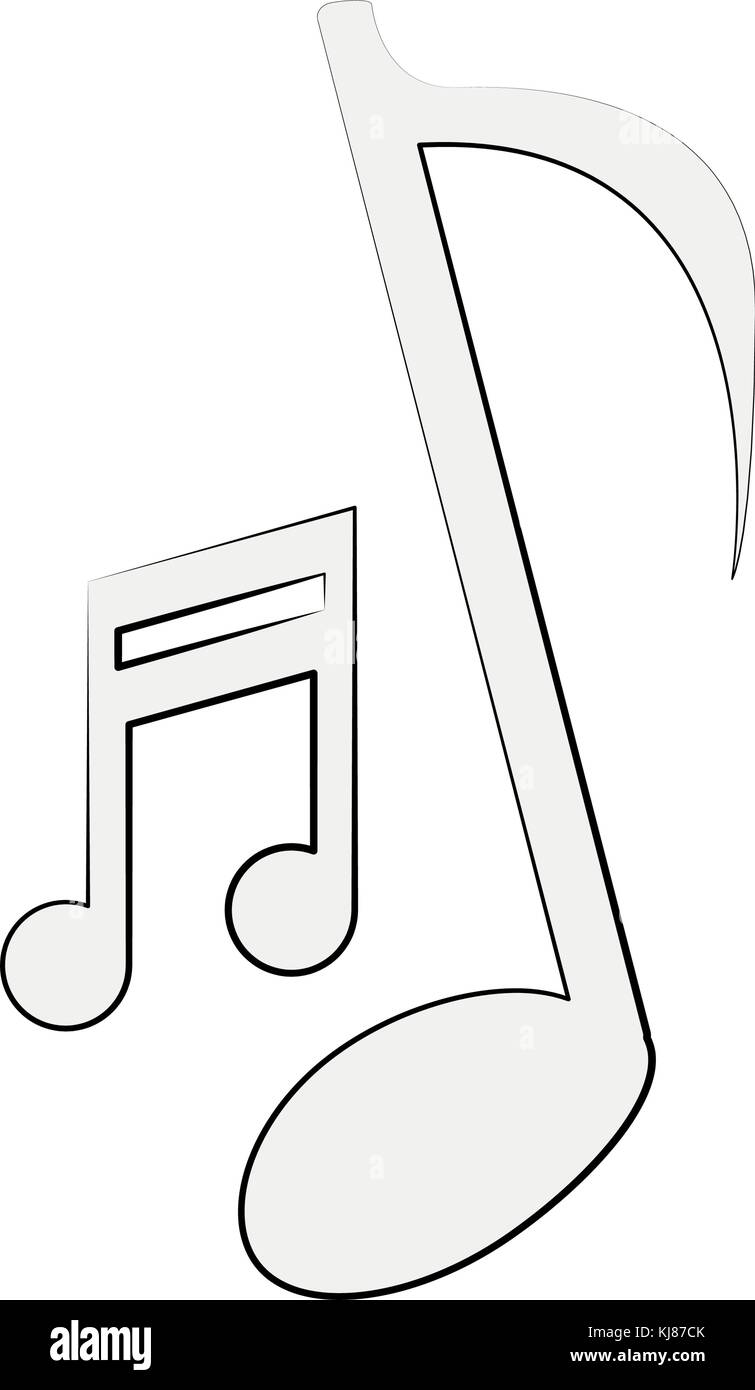 Music Notes Sketch Stock Photos Music Notes Sketch Stock Images