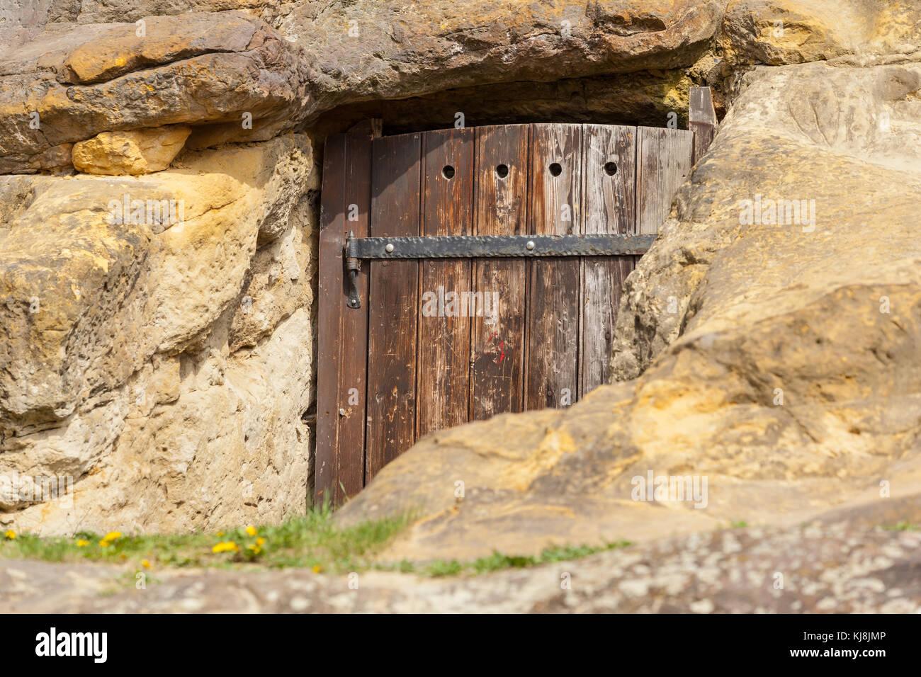 historische mittelalterlich Tür - Stock Image