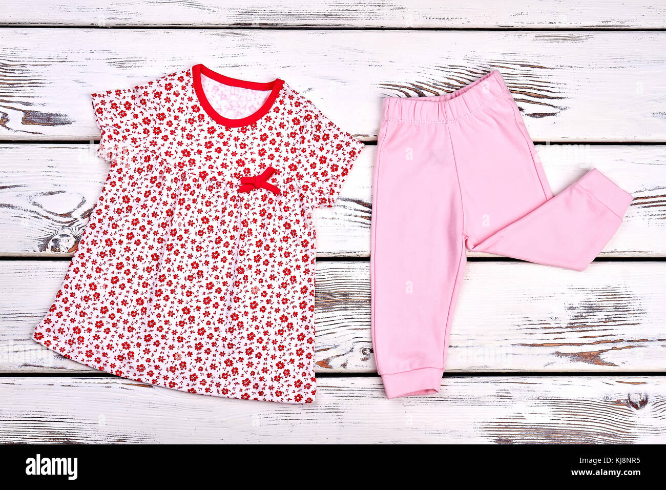 9ad62f832c9 Baby-girl cotton top and trousers. Toddler girl casual patterned ...