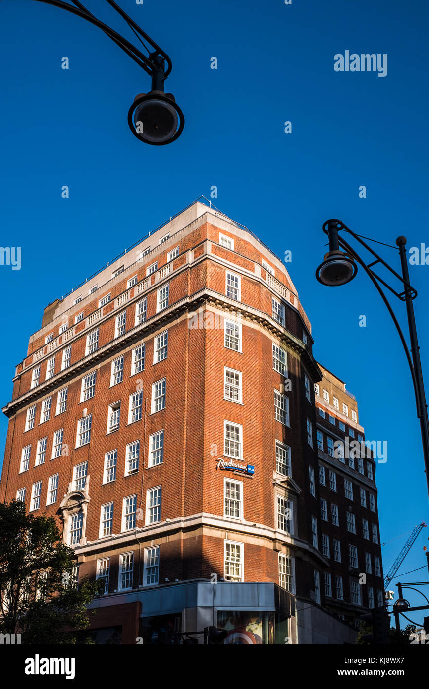 Radisson Blu hotel, Oxford street, London, England, U.K. - Stock Image