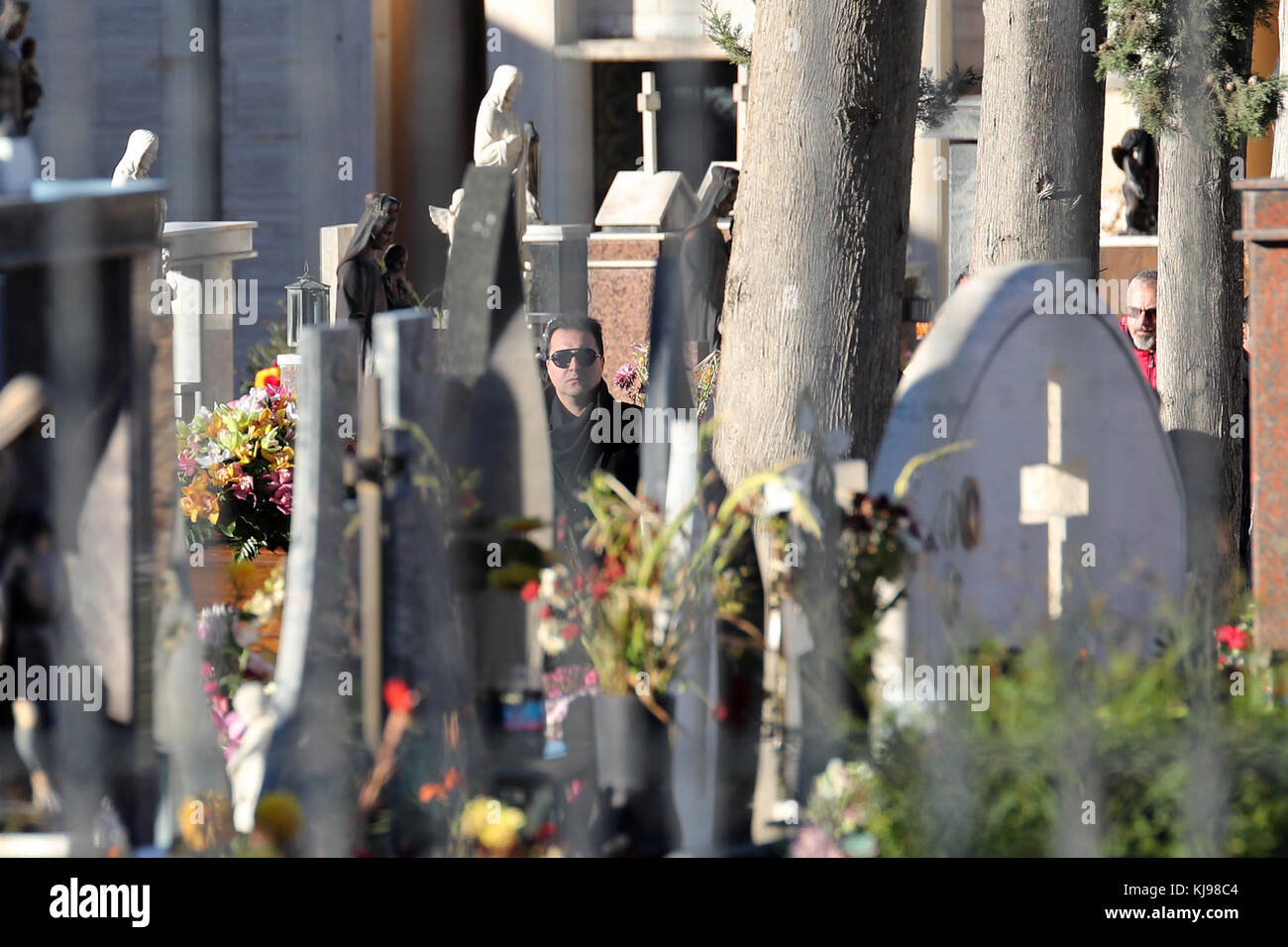 Corleone, Italy. 22nd November, 2017. Corleone, a funeral of Salvatore Riina known as Toto 'Riina, the head - Stock Image