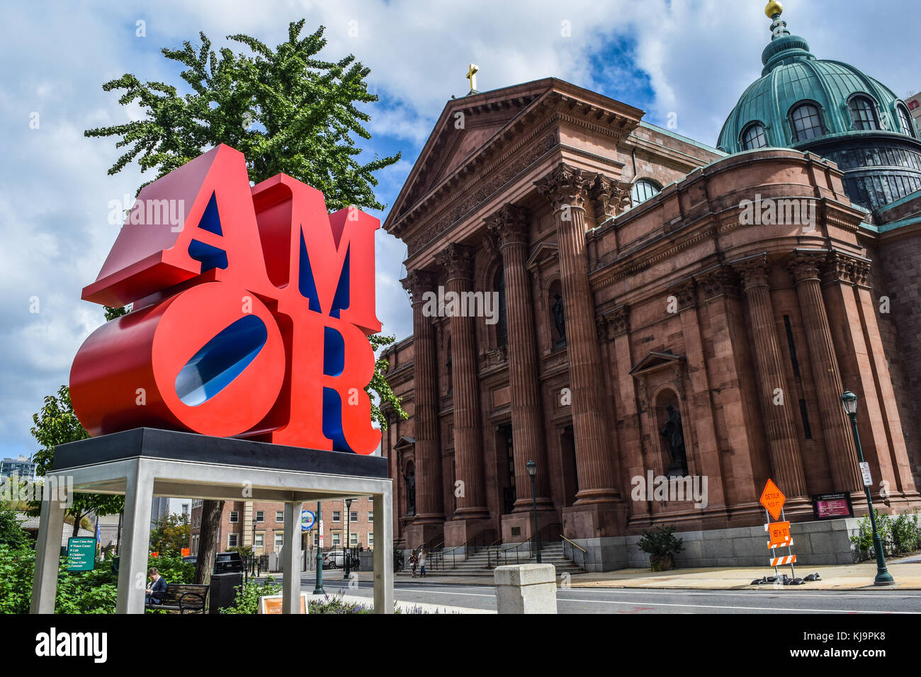 City of Brotherly Love - Stock Image