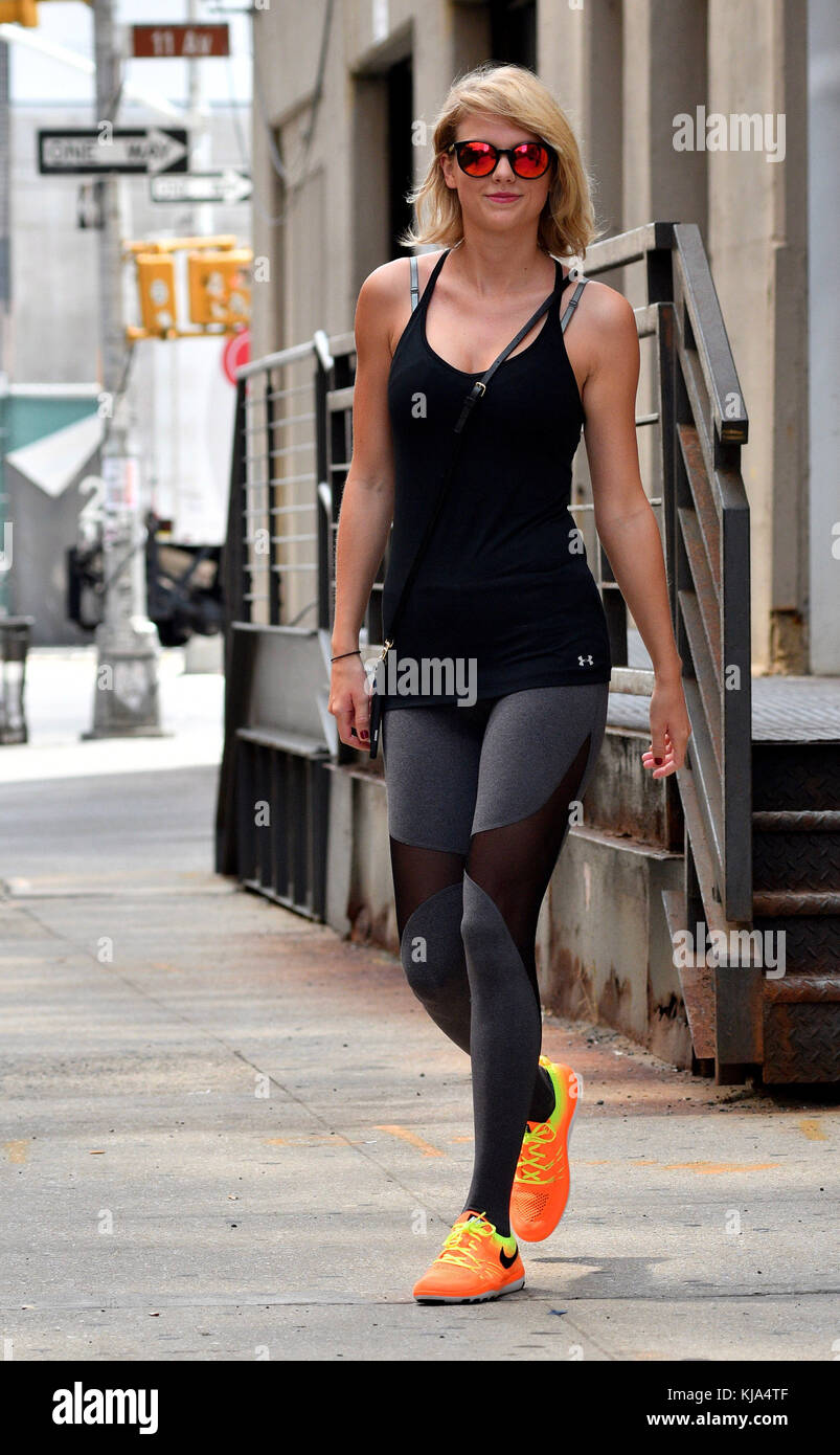 New York Ny August 26 Singer Taylor Swift Wearing