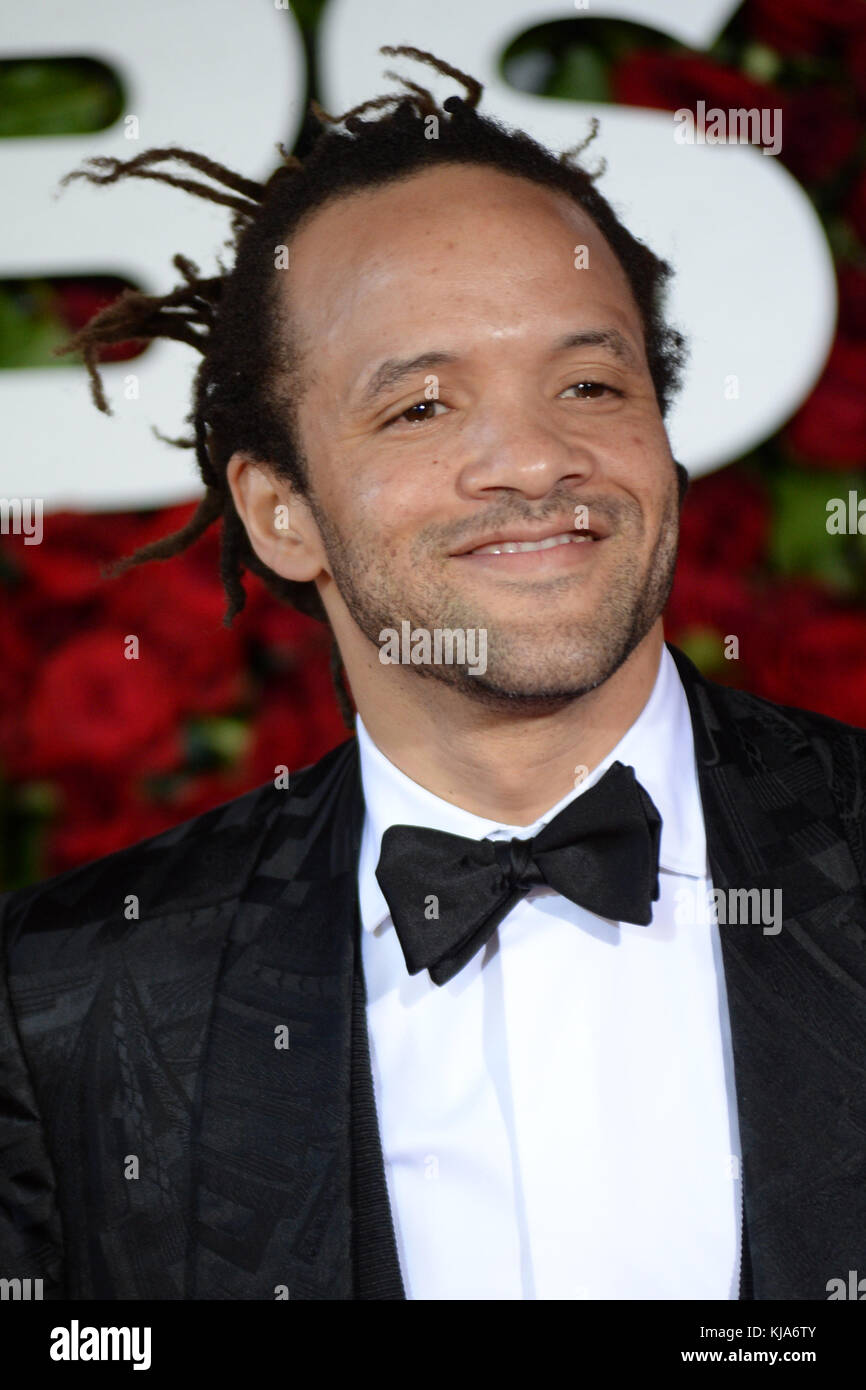 NEW YORK, NY - JUNE 12: Savion Glover attends the 70th Annual Tony Awards at the Beacon Theatre on June 12, 2016 - Stock Image