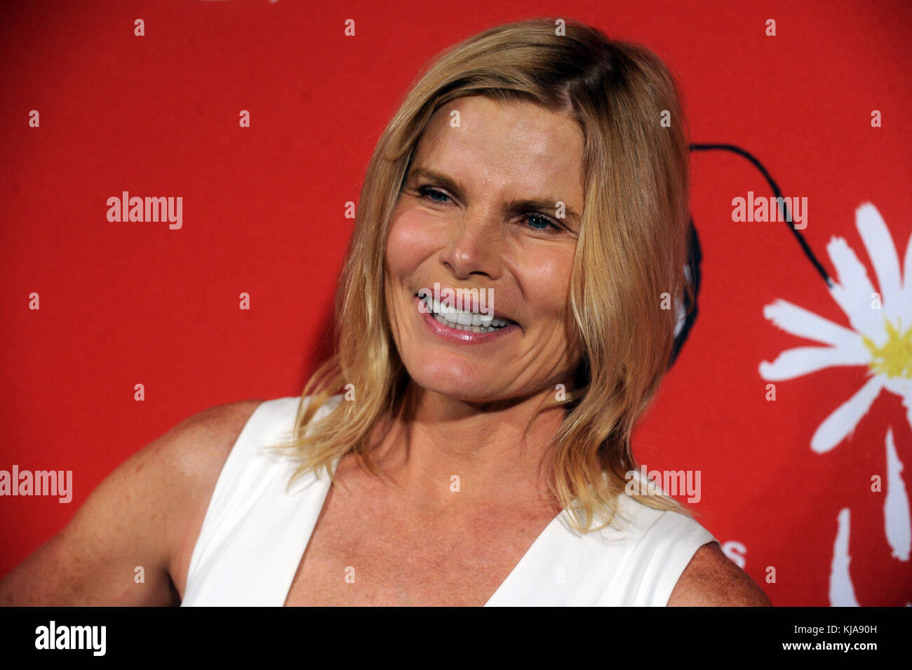 NEW YORK, NY - SEPTEMBER 15: Mariel Hemingway  attends the world premiere of 'Crisis in Six Scenes' at the Crosby Stock Photo