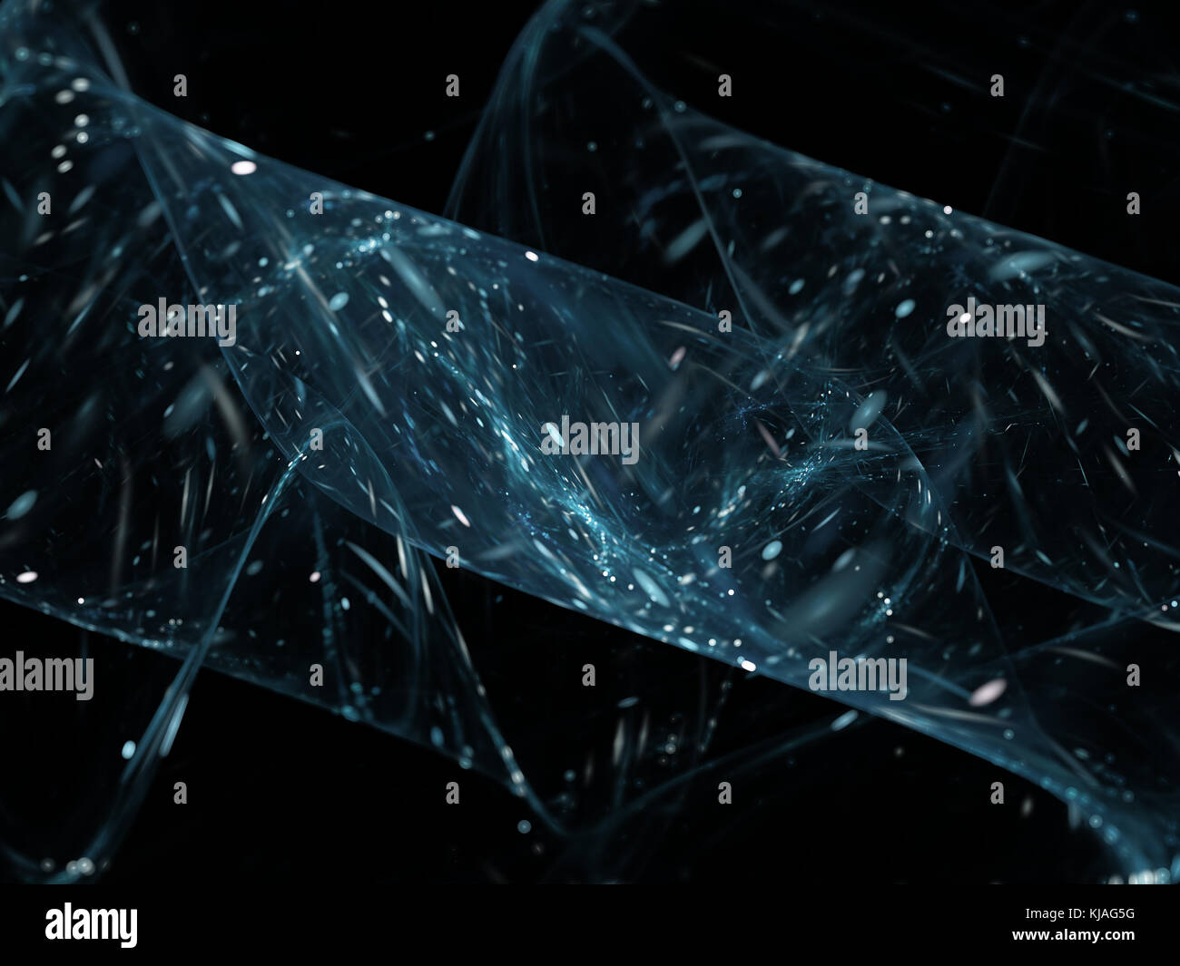 Big data analysis, computer generated abstract background, 3D rendering - Stock Image