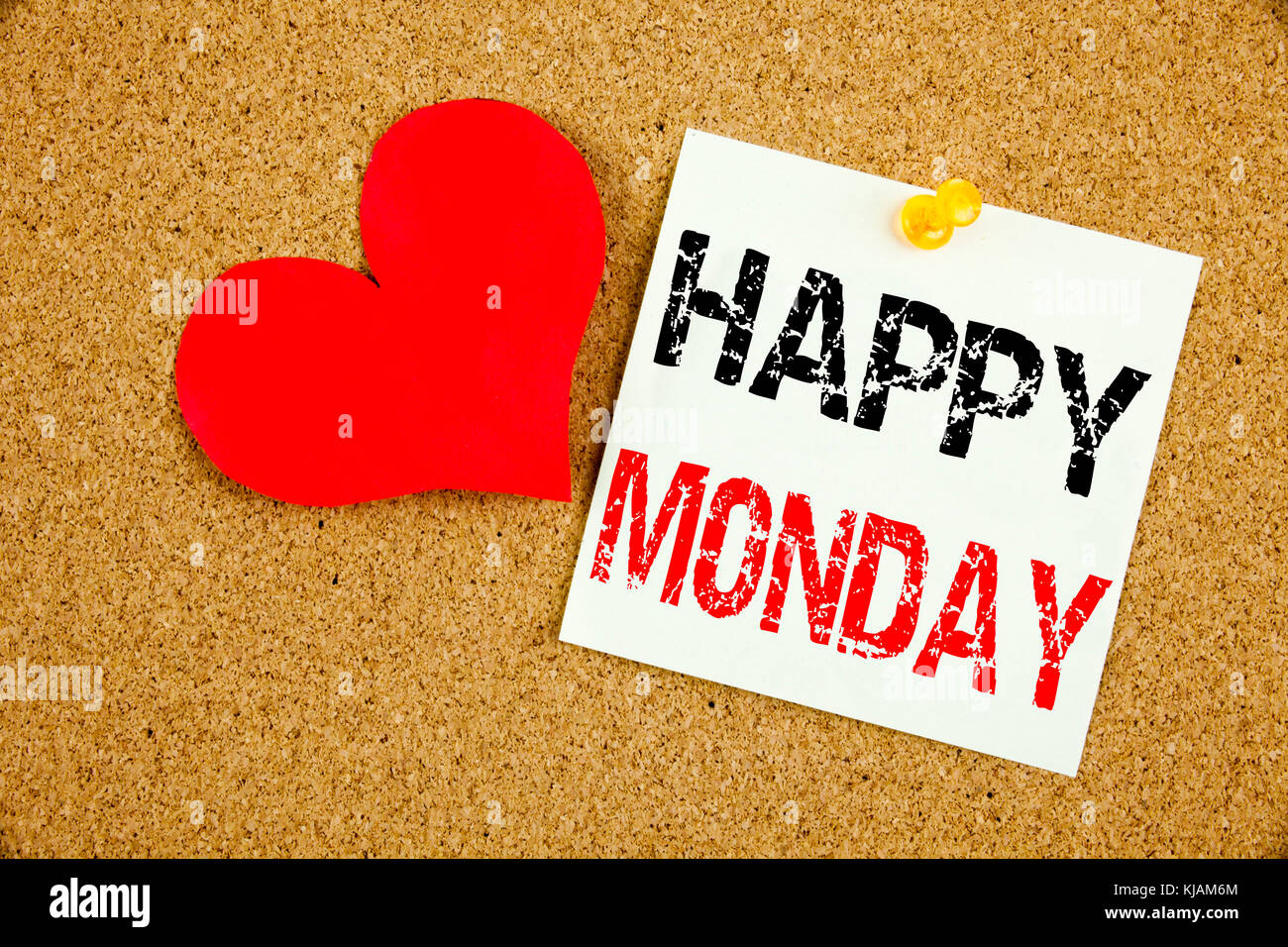 Conceptual Hand Writing Text Caption Inspiration Showing Happy Monday Stock Photo Alamy