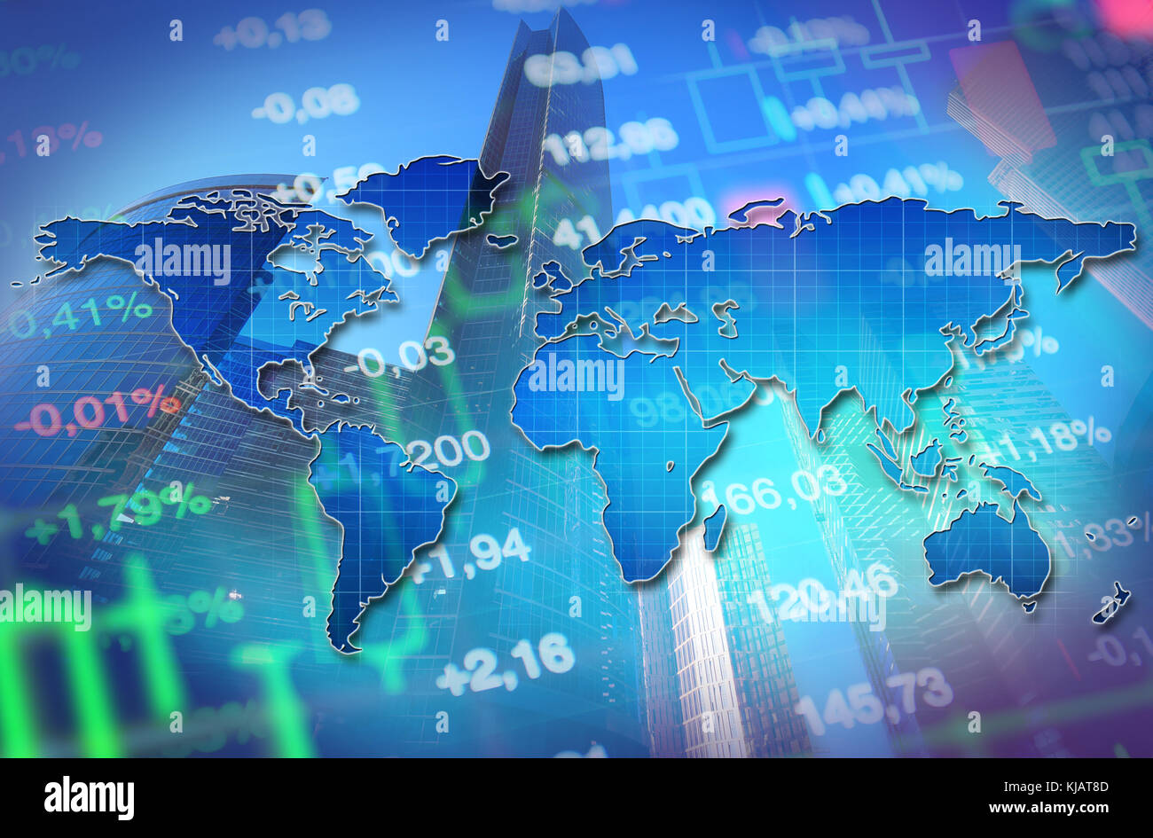 stock market banner stock photos & stock market banner stock images