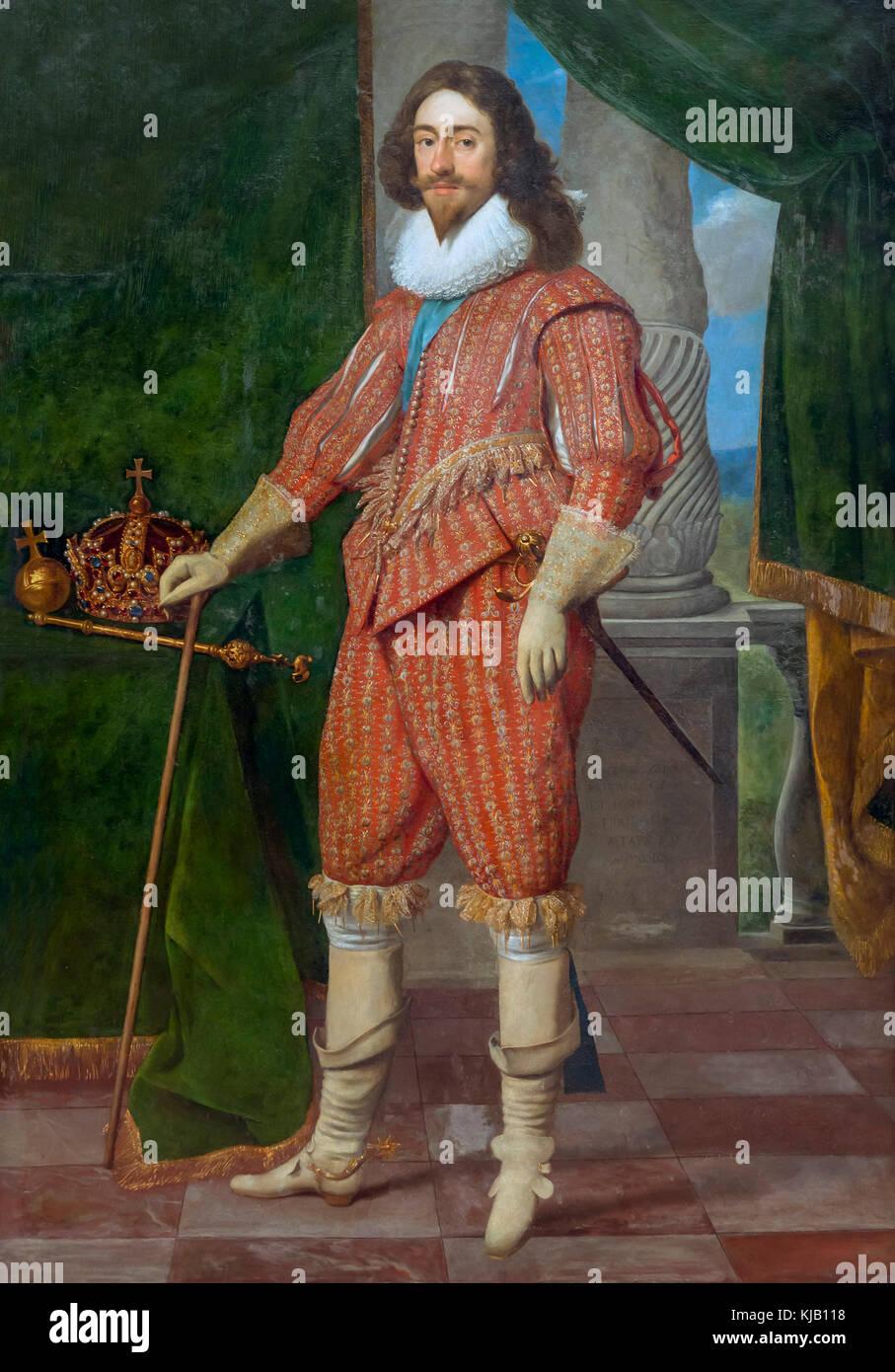 Charles I, King of England, Daniel Mijtens, 1629, Metropolitan Museum of Art, Manhattan, New York City, USA, North - Stock Image