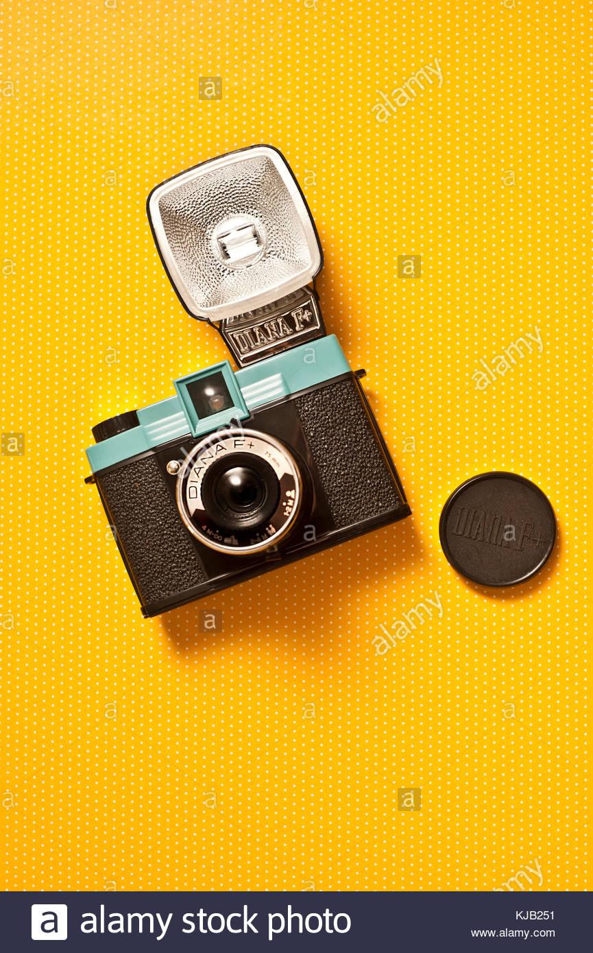 classic Diana Lomography film camera - Stock Image