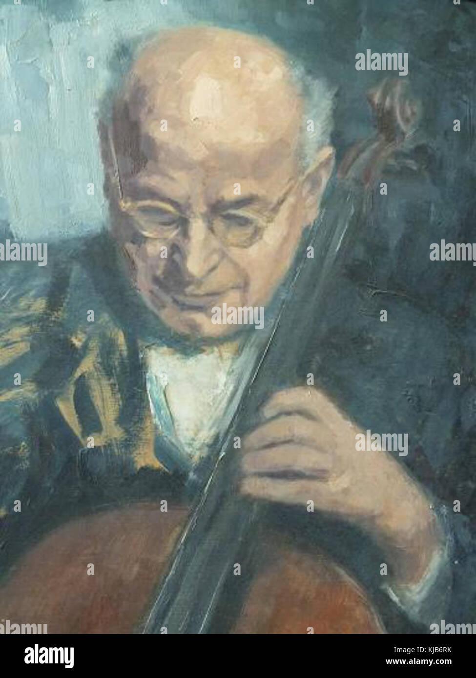 Josef wagnes gemalt klein - Stock Image