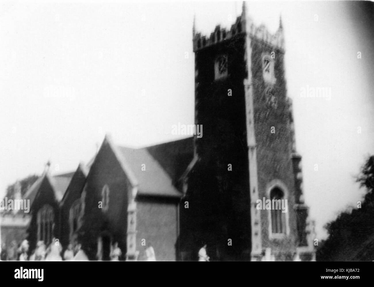 1930s St Mary Magdelene, Sandringham - Stock Image