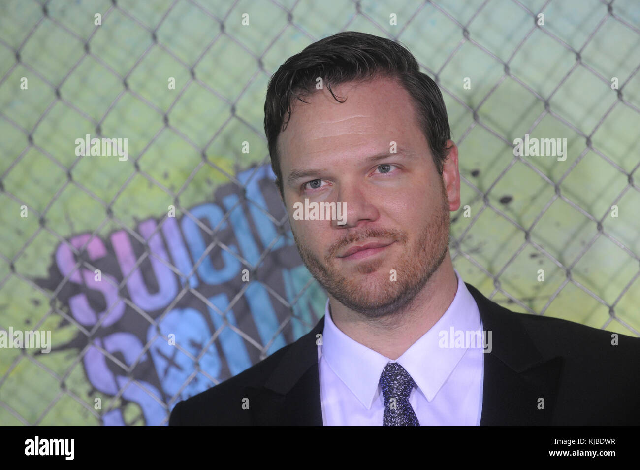 NEW YORK, NY - AUGUST 01:   attends the 'Suicide Squad' world premiere at The Beacon Theatre on August 1, - Stock Image
