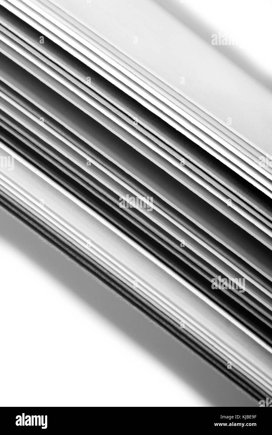closeup of the grey color paper - Stock Image