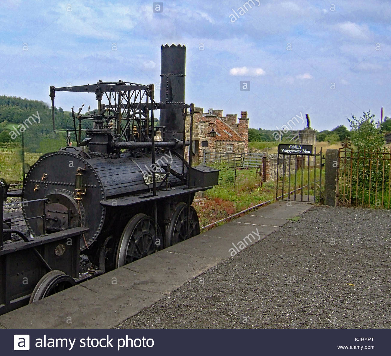 Steam Locomotion No. 1 - © Doc Braham; All Rights Reserved - Stock Image