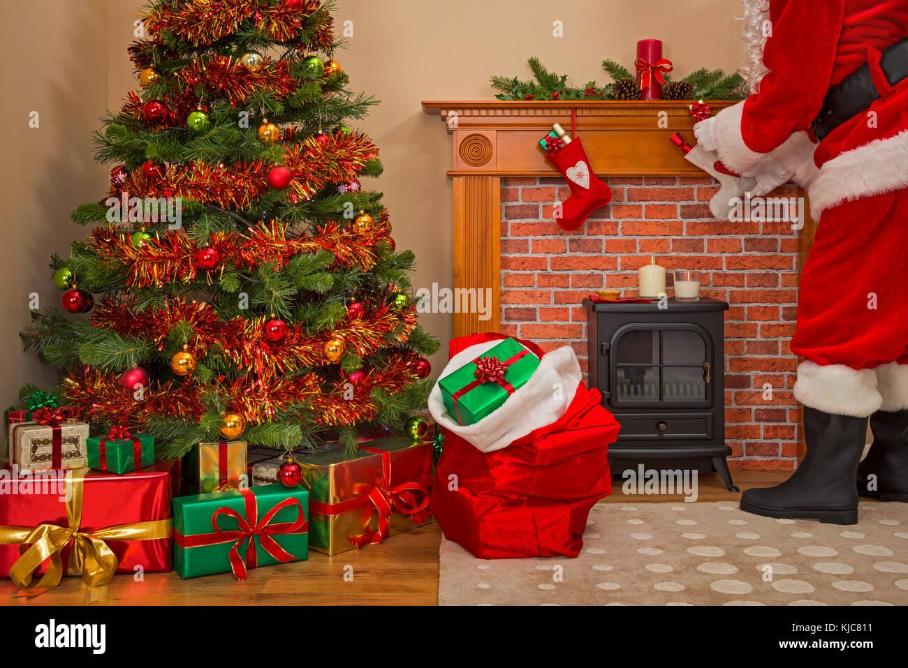 Christmas presents under the tree - Stock Photo - Dissolve |Wrapped Christmas Presents Under The Tree