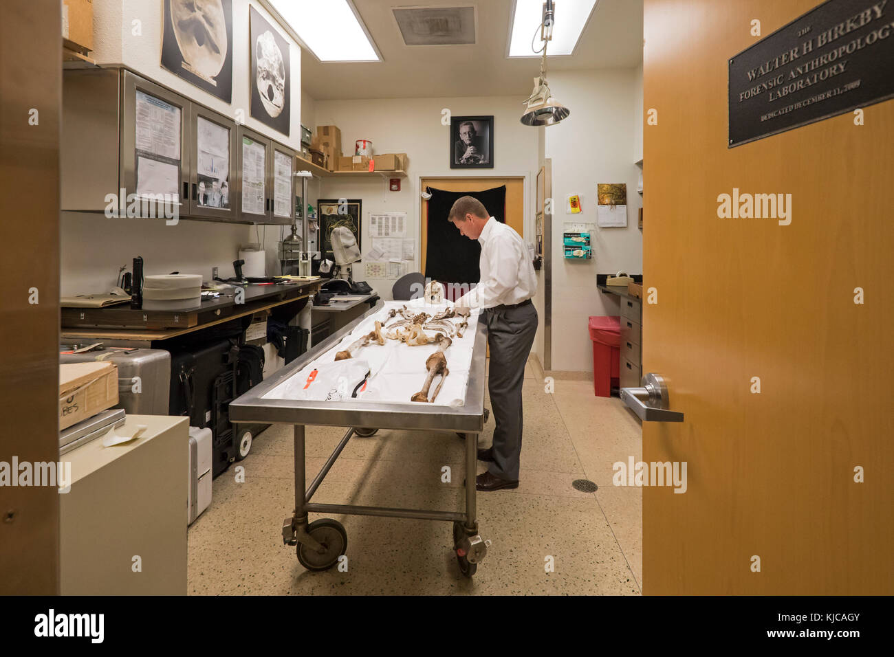 Tucson, Arizona   Dr. Gregory Hess, Chief Medical Examiner For Pima County,