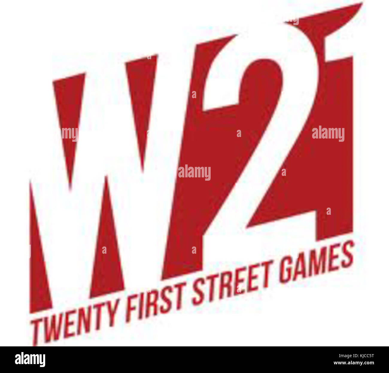 21st Street Games Logo - Stock Image