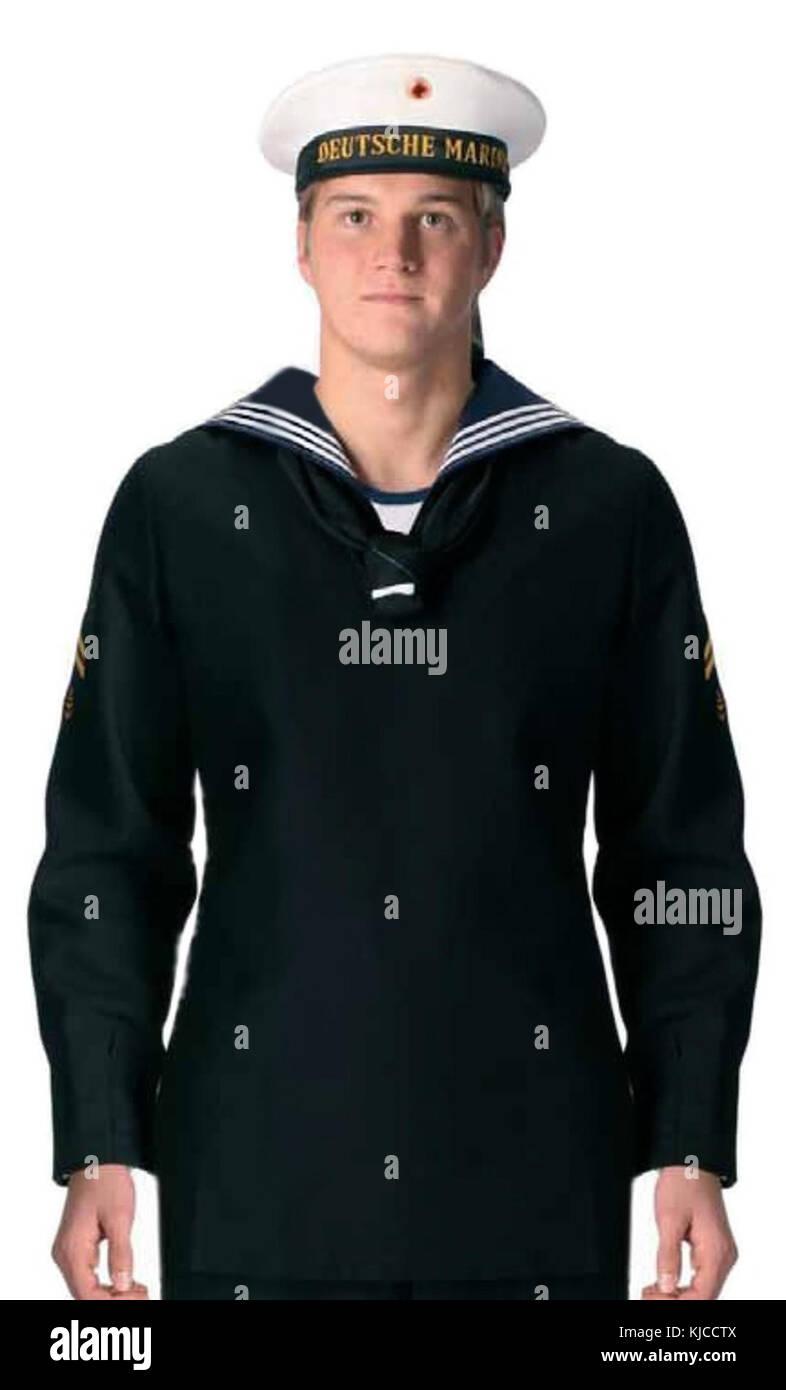 BW Dienstanzug Marine(Mannschaften) - Stock Image
