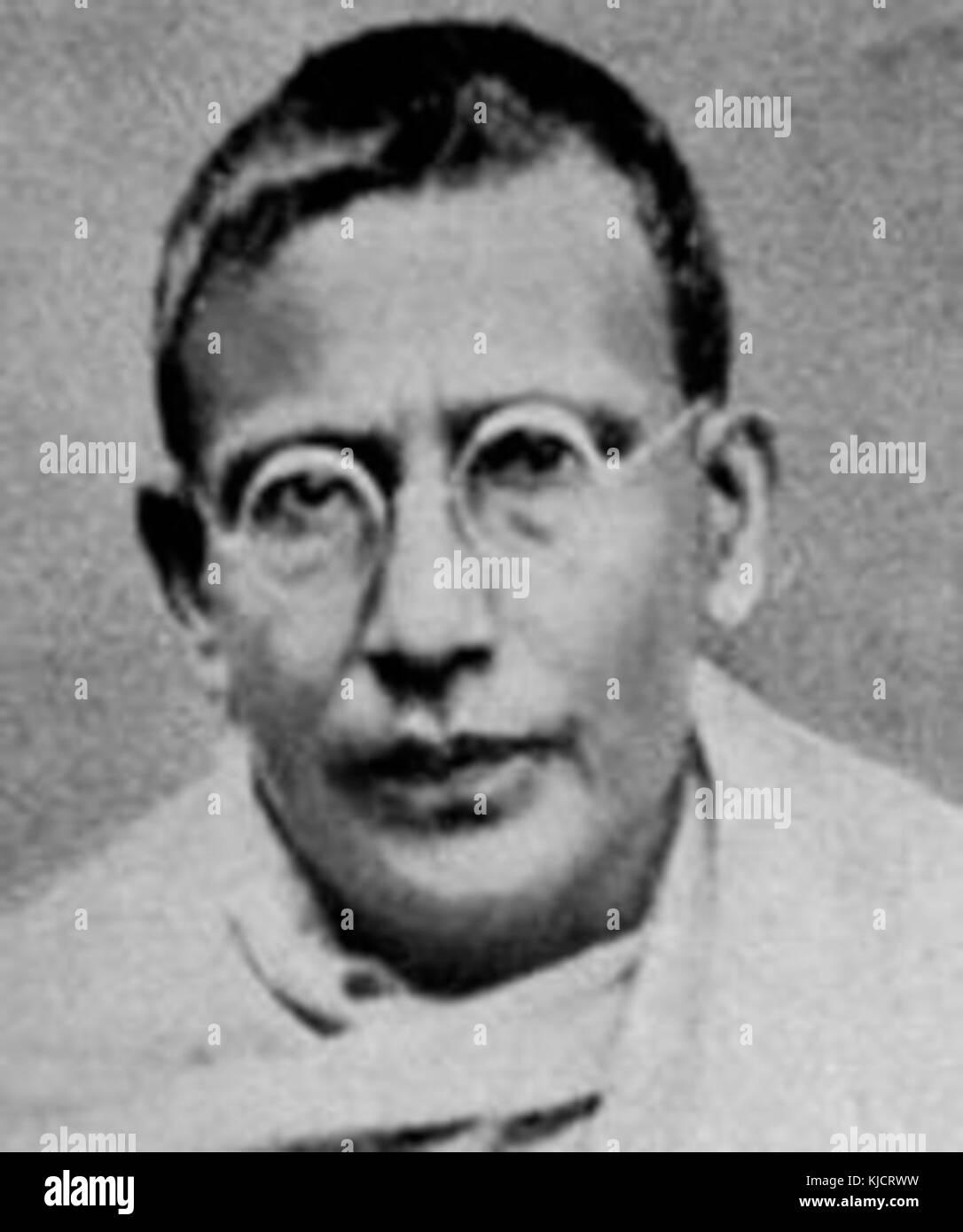 Krishna Chandra Bhattacharya - Stock Image