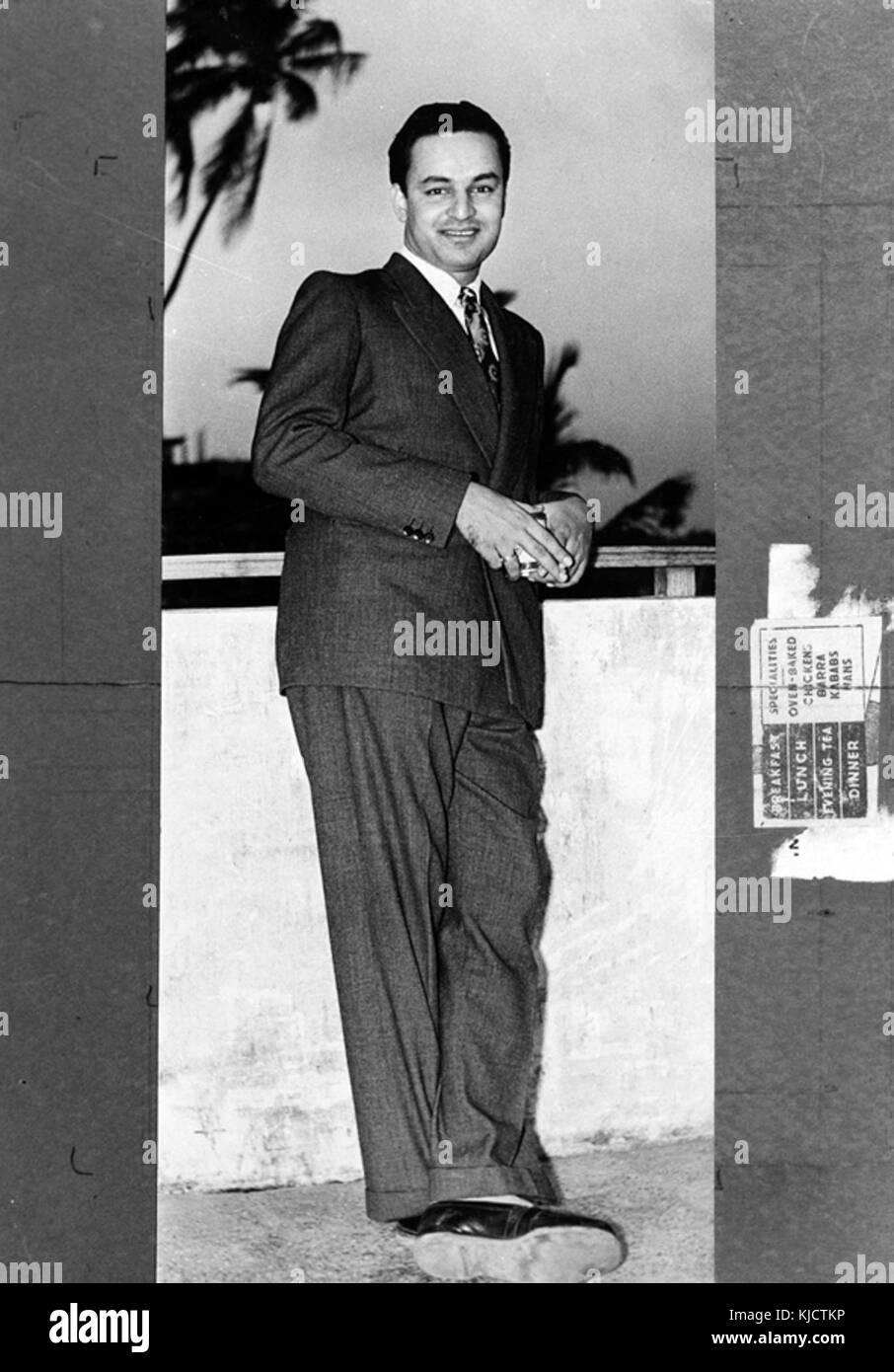 Mukesh Indian Singer - Stock Image
