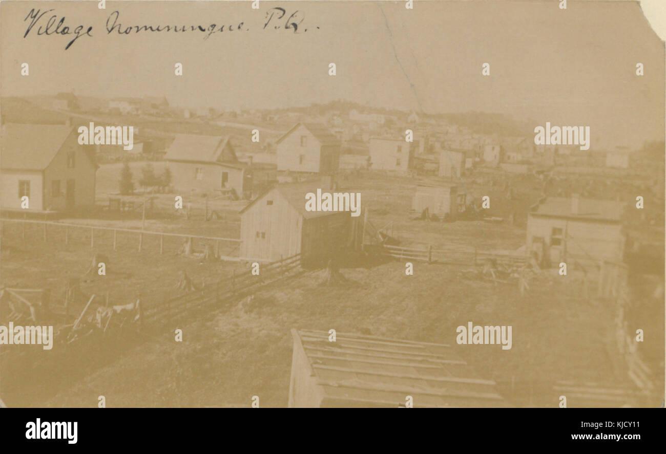 Village Nominingue, PQ (HS85 10 19365) - Stock Image