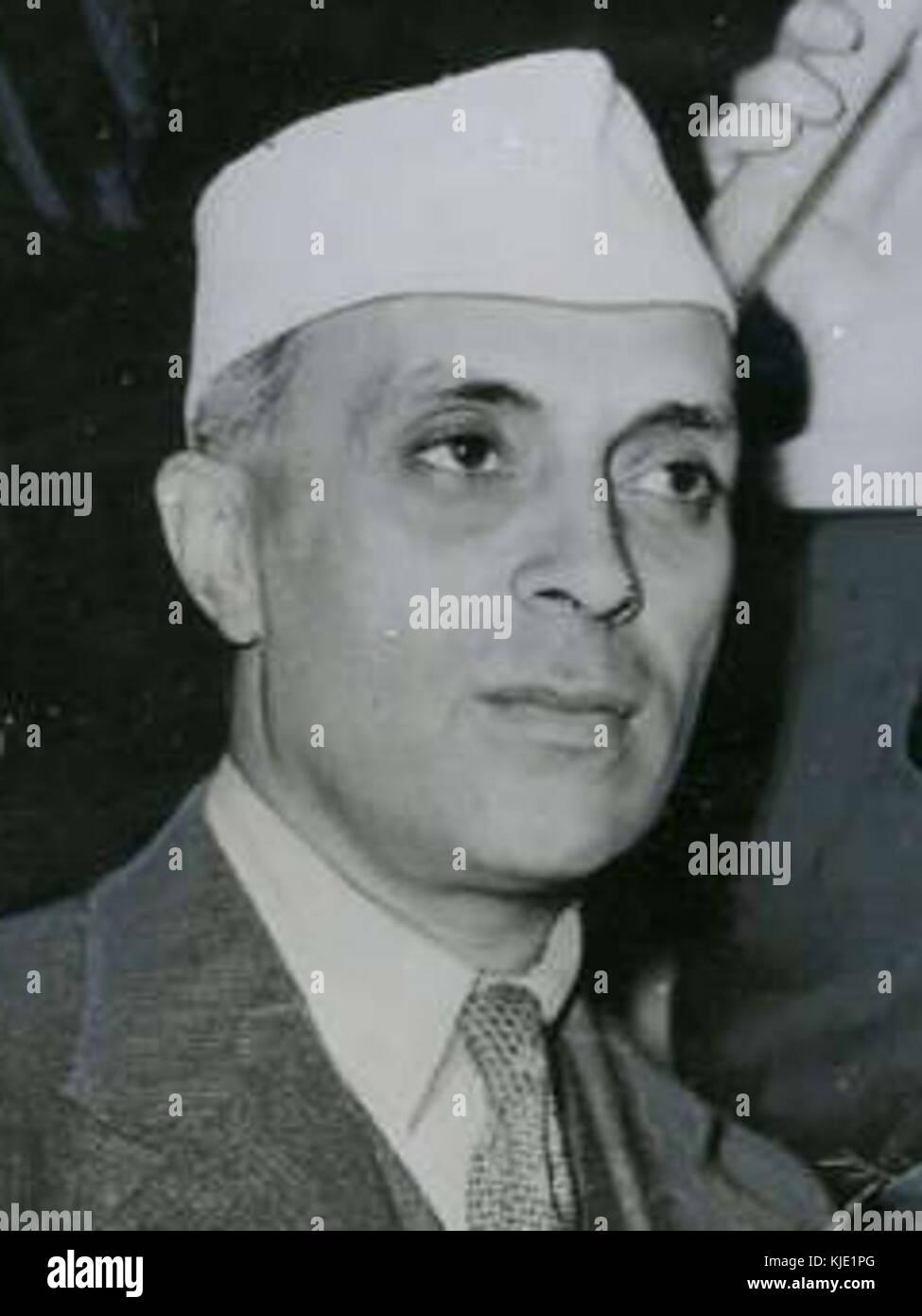 Jawaharlal Nehru 1946 - Stock Image