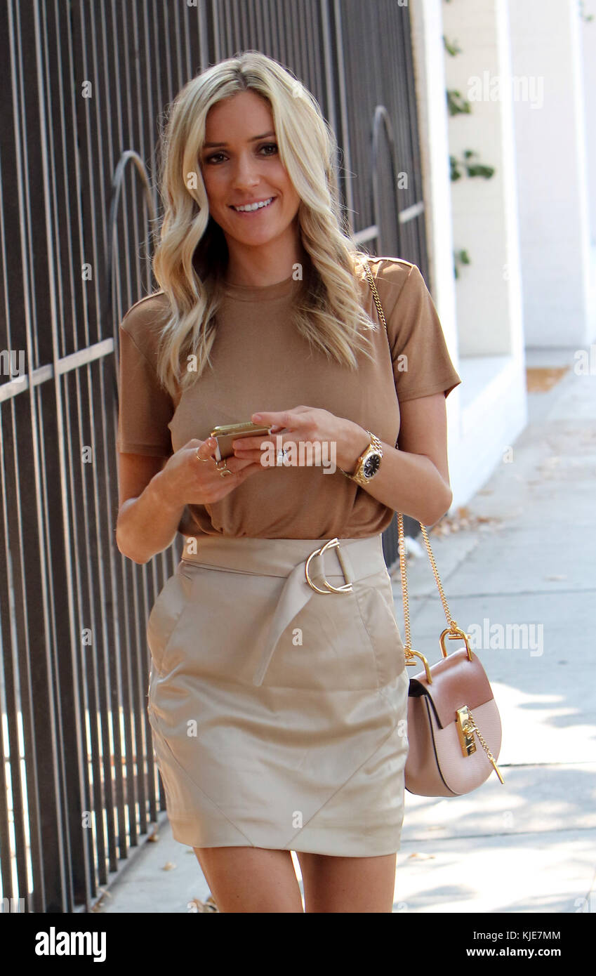 West Hollywood Ca July 29 Kristin Cavallari Cutler Out And About Stock Photo Alamy