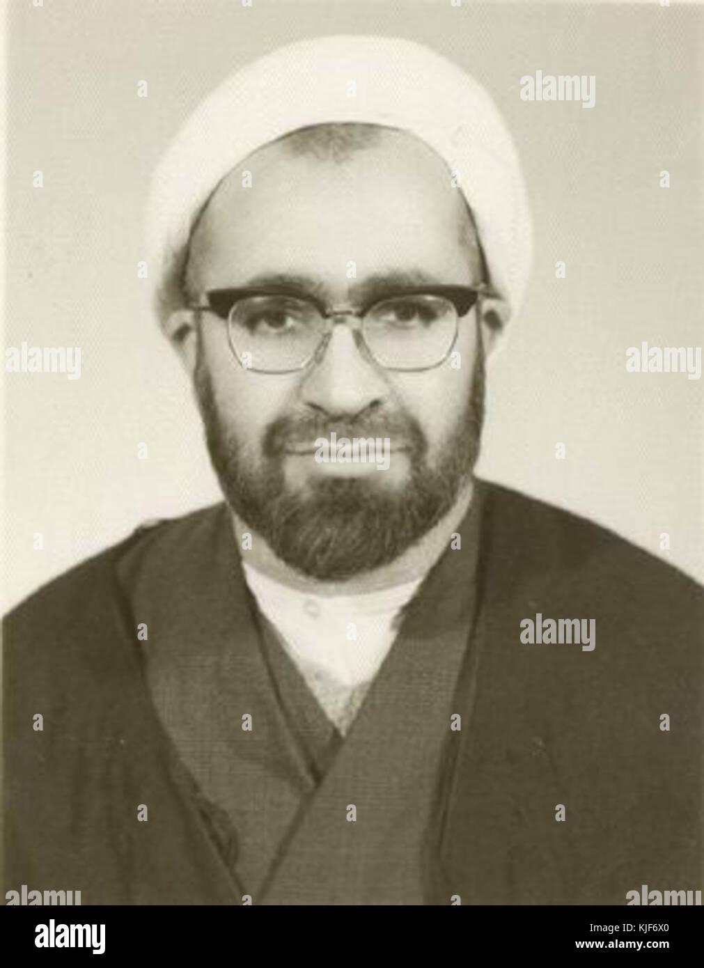 Hussein Ali Montazeri in 1955 ...