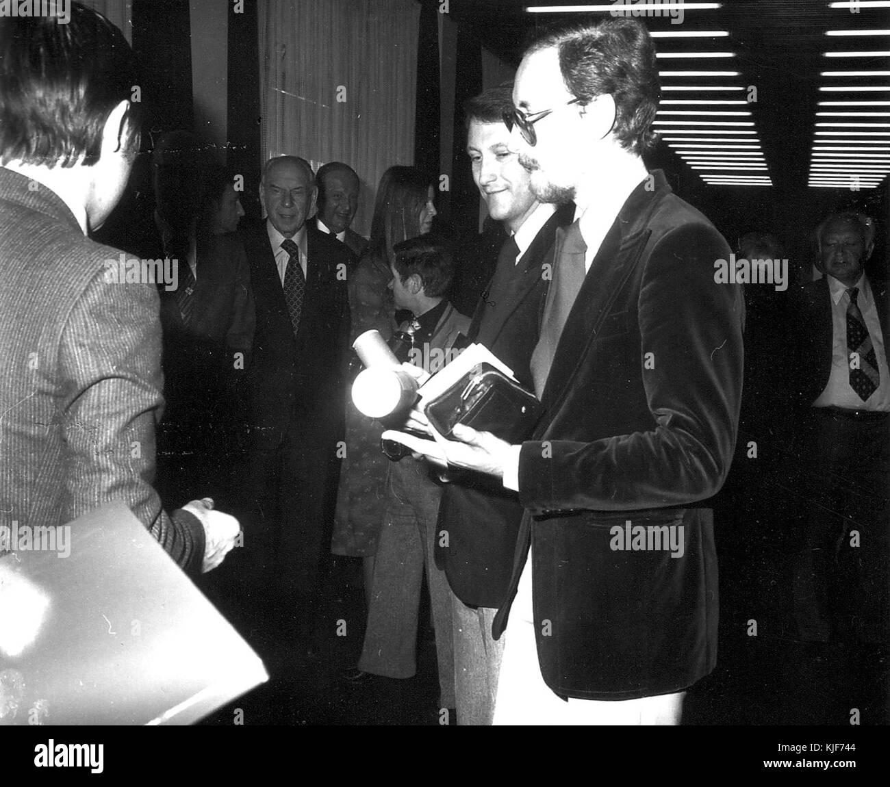 Goldene Pelzmotte 1976, Gerd Kursawe, Hans Quaet Faslem, Martin von Schachtmeyer (05) - Stock Image