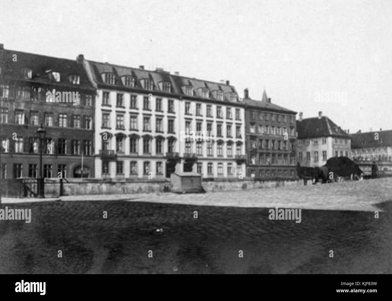 Frederiksholms Kanal 16 18 vintage photo - Stock Image