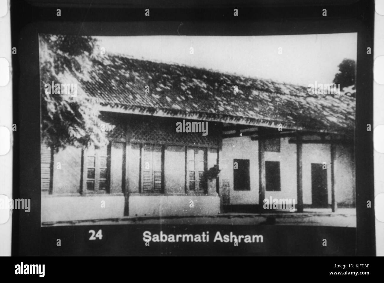 Sabarmati Ashram Ahmedabad - Stock Image