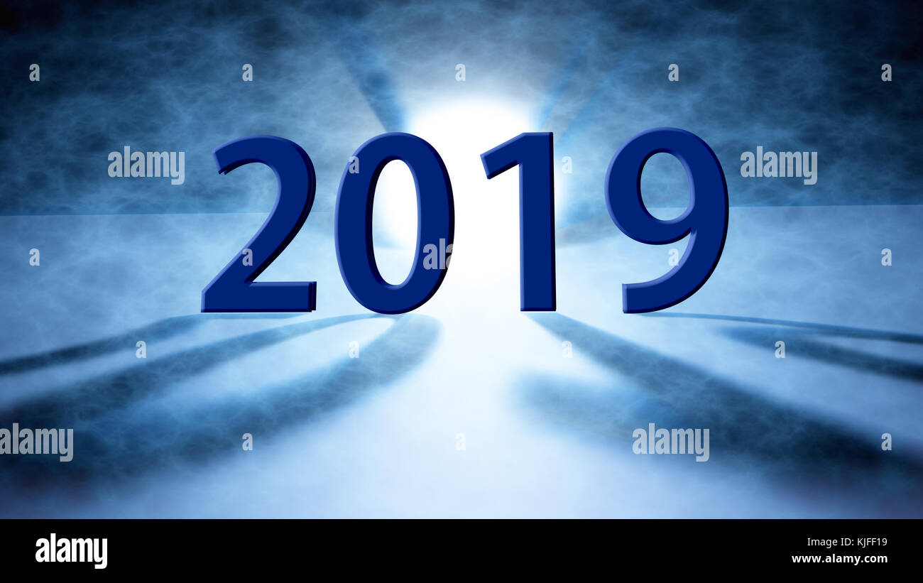 The Happy new year 2019 holiday background.2019 Happy New Year Stock ...