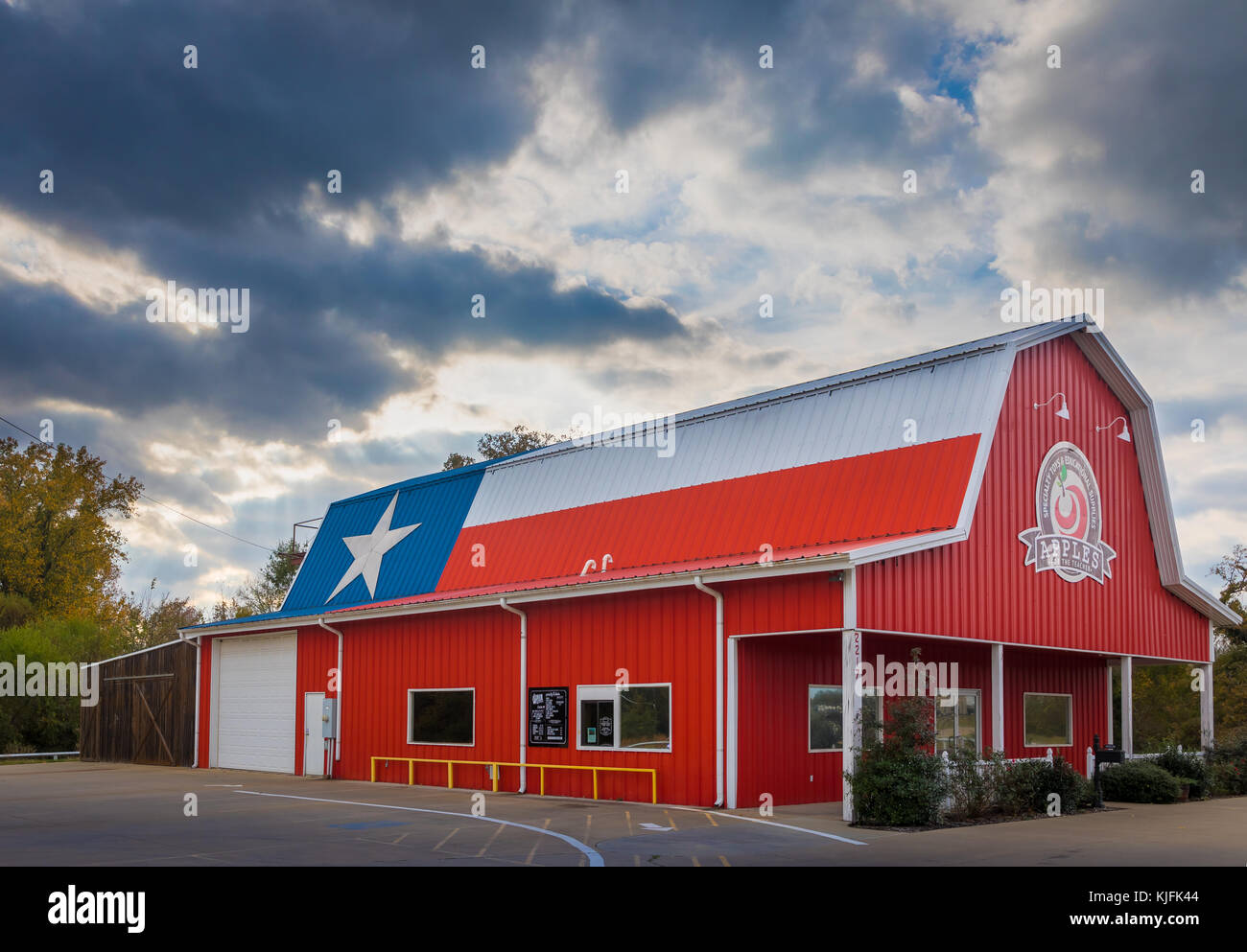 Store in Mount Pleasant, Texas - Stock Image