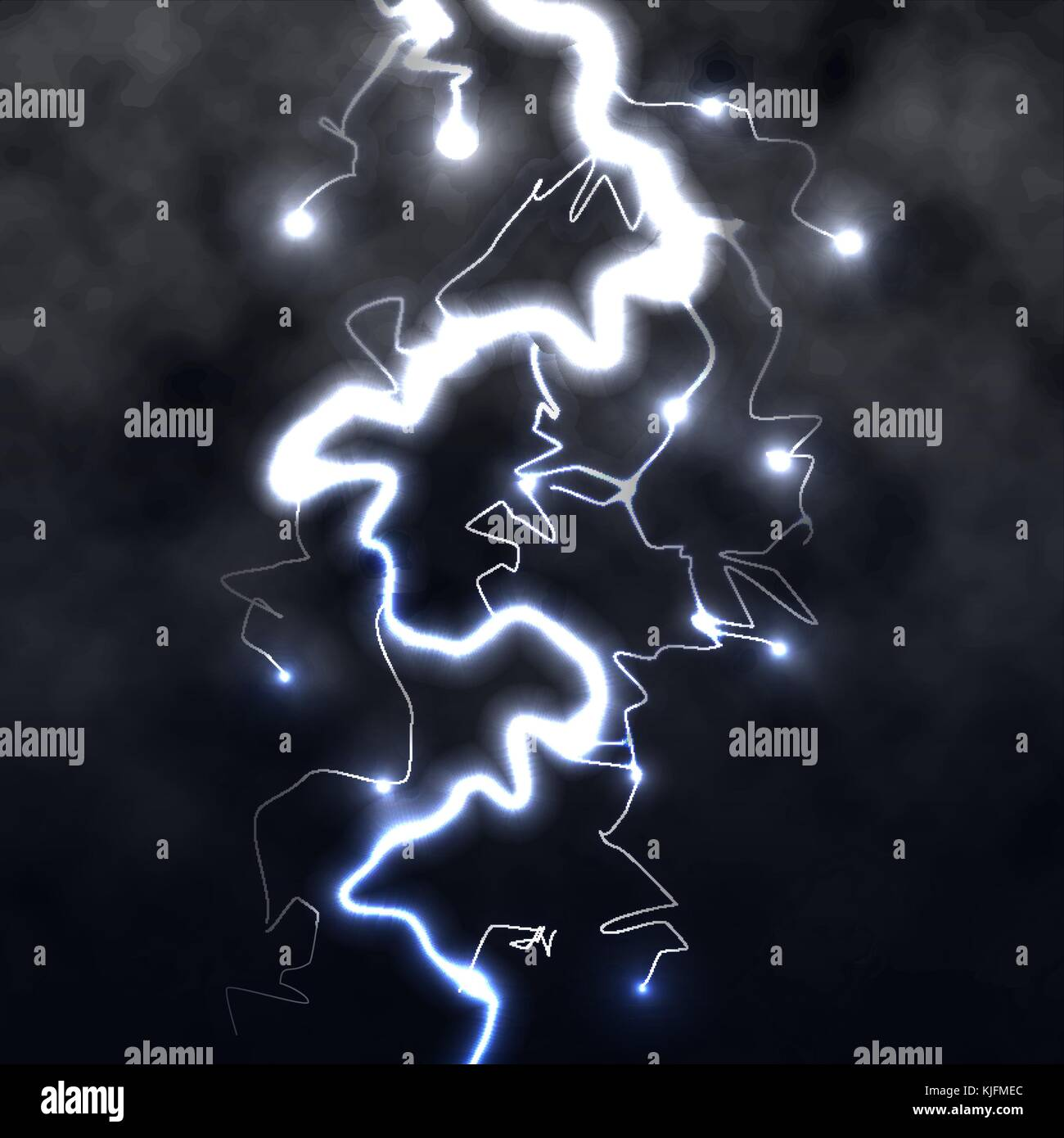 thunder vector high resolution stock photography and images alamy https www alamy com stock image lightning flash light thunder spark on black background with clouds 166302484 html
